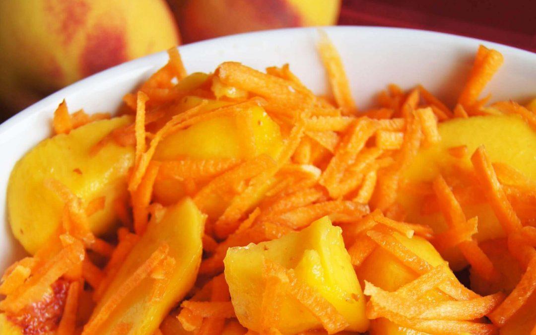 Salada de Pêssego e Cenoura