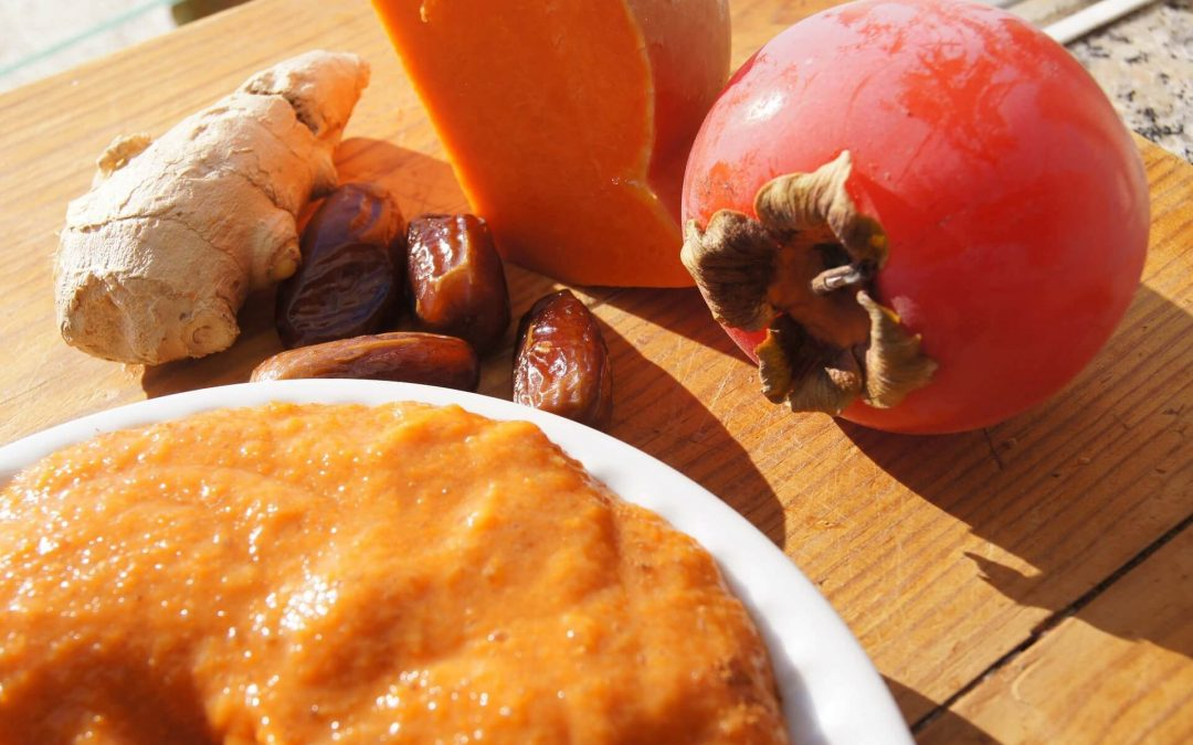 Doce Saudável Cru de Abóbora e Gengibre | Sobremesa Saudável